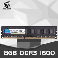 VEINEDA Dimm ram ddr3 32gb 4X8gb 1600MHz memoria ram For all Intel AMD Desktop PC3 12800 32gb ddr 3 non ECC memory