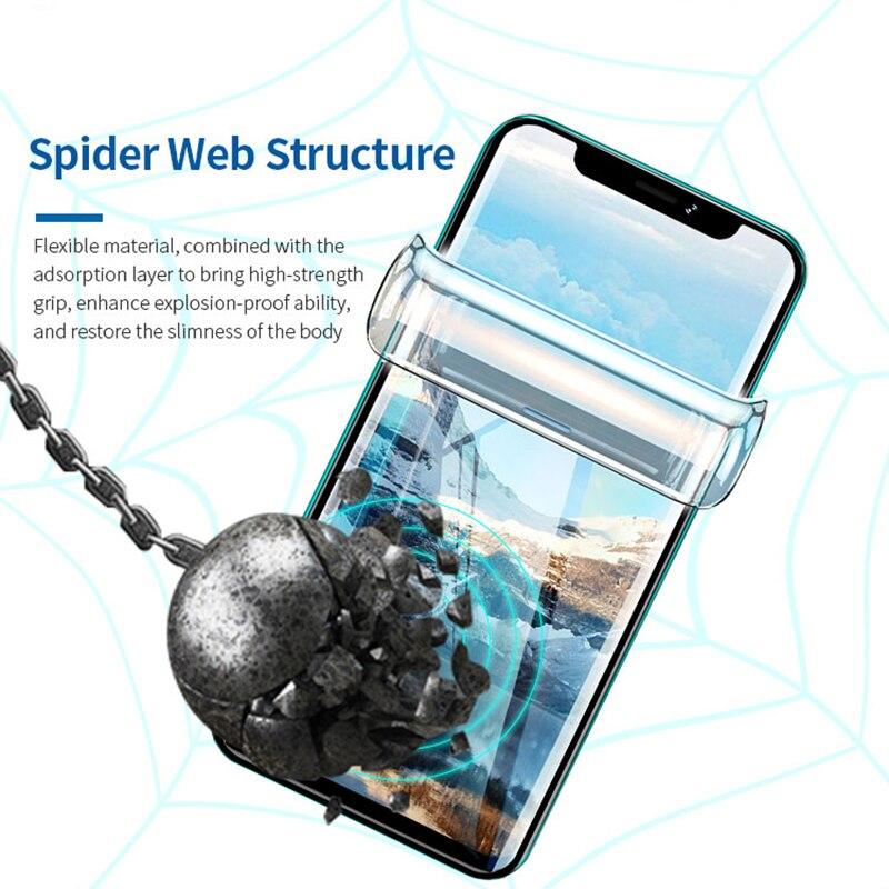 SUNSHINE SS-057 Flexible Hydrogel Film Slim Full Stickers Strong Anti-Fingerprint  For Mobile Phone Nano Protection Film