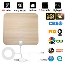 Newest High Quality 996 Miles TV Antenna Digital HD Indoor 4K Life Local Channels Amplifier Signal Booster