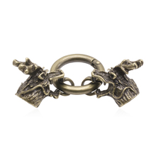 5pcs Vintage gold faucet bracelet connection buckle wholesale for DIY bracelets, internal size 10mm