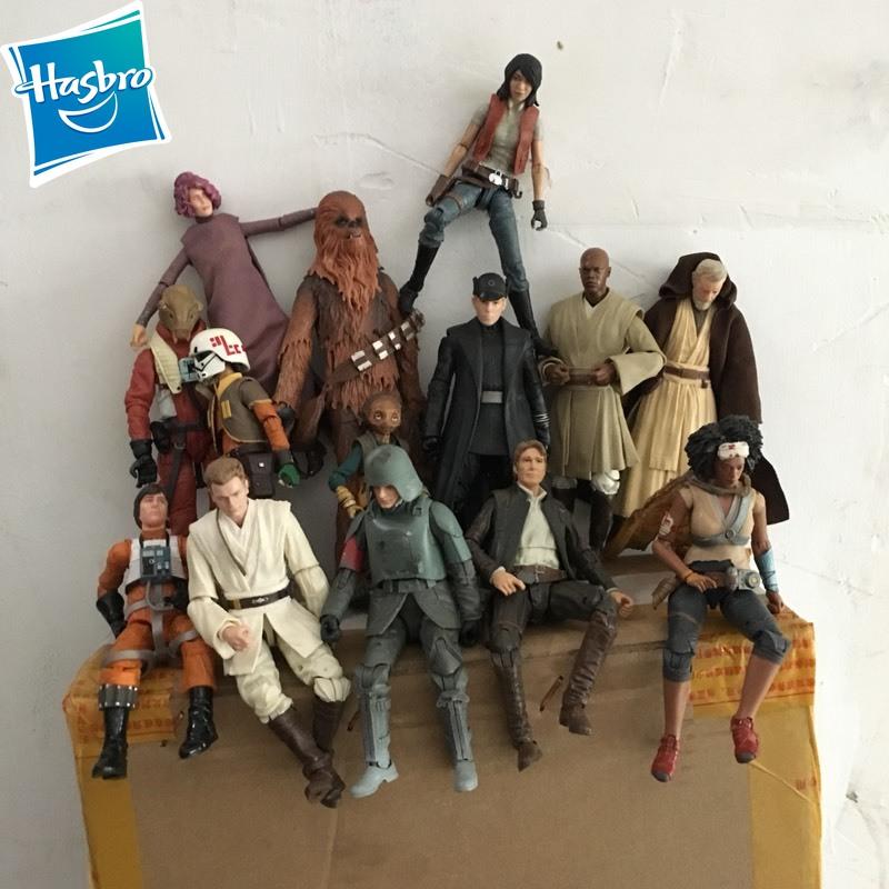 Hasbro Starwars Jedi Knight Obi-Wan Anime Action & Toy Figures Model Toys For Children