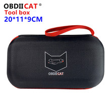 OBDIICAT Plastic Sealed Tool Box Safety Equipment Toolbox Suitcase Resistant Tool Case for jump starter