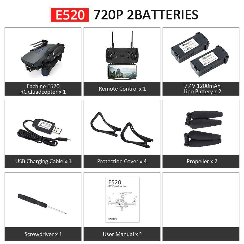 E520 720P 2Batteries