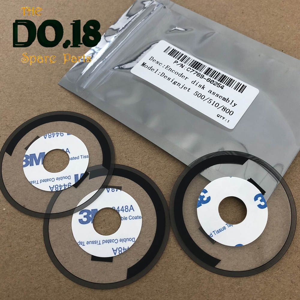 C7769-60254 C7769-60065 For HP DesignJet 500 500PS 800 800PS 815 820 Encoder Disk Assembly