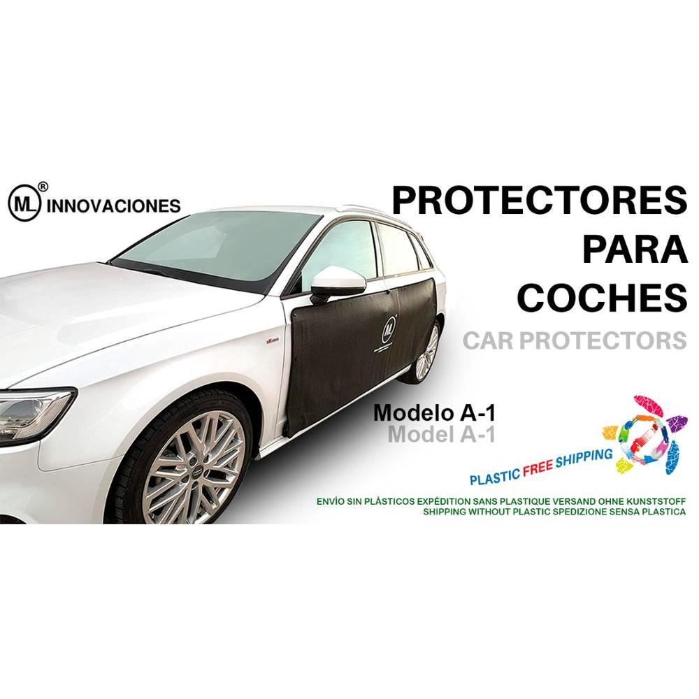 Door Protector for auto cars magnetic magnets removable A1 Thin ML Innovations. Prevents scratches and dents