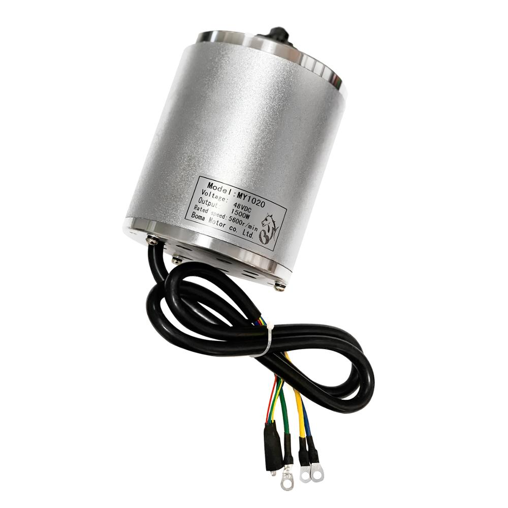 36V 48V 1500W Central Drive High Speed EVO Scooter Brushless DC Motor Electric 5600r/min