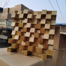 Solid wood full-frequency diffuser acoustic secondary sound absorption low-frequency trap recording studio home theater