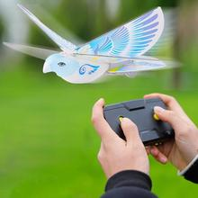 360 Degree Flying RC Bird Toy 2.4 Ghz Remote Control E-bird Flying Birds Electronic Mini Rc Drone Toys Helicopter 235x275x70mm недорого