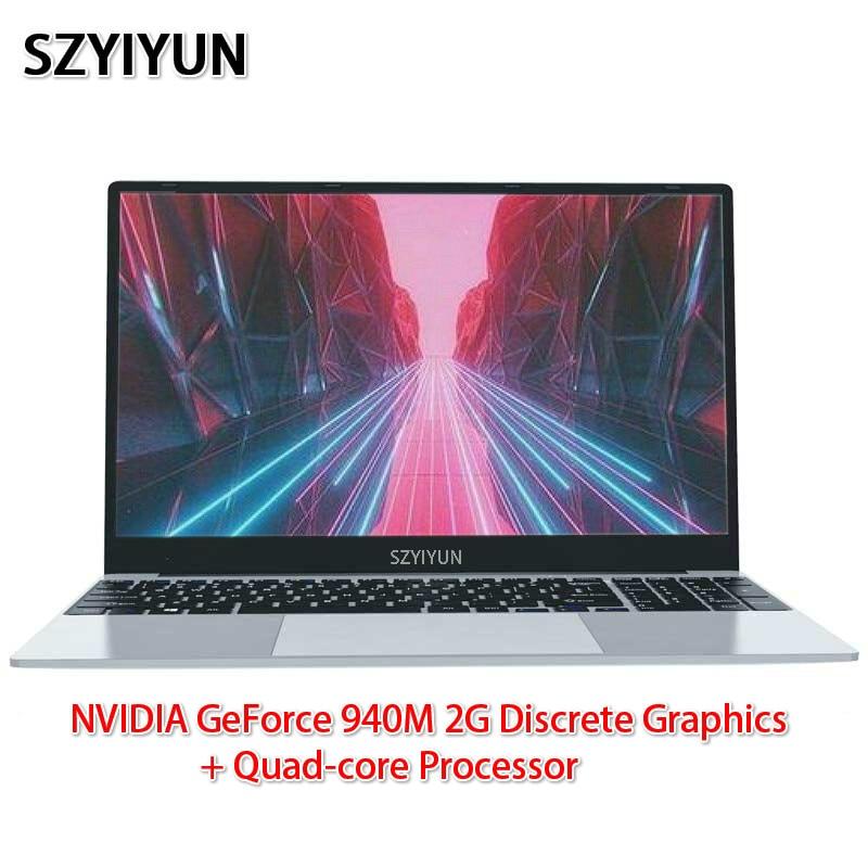 J3455 Intel Laptop 8G NVIDIA GeForce 940M 2G Discrete Graphics Quad-core Processor Ultra-thin Netbook Business Portable Notebook