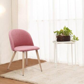 2 piezas sillas de comedor modernas sillas de pan de madera de  revestimiento suave sillas de comedor de terciopelo para cocina sala de  estar de ocio ...
