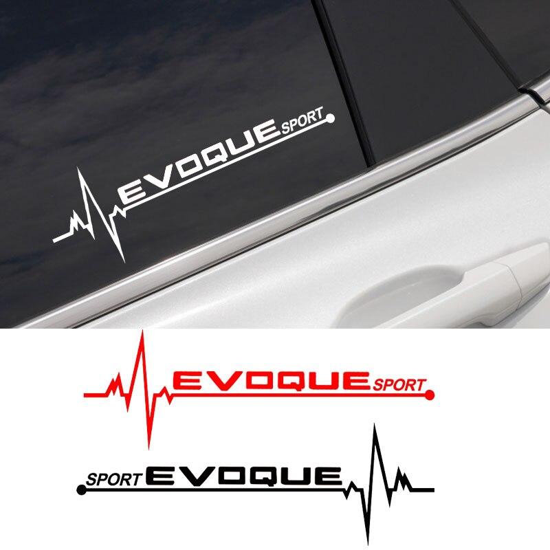 2 шт., виниловые наклейки на окна автомобиля Land Rover Evoque