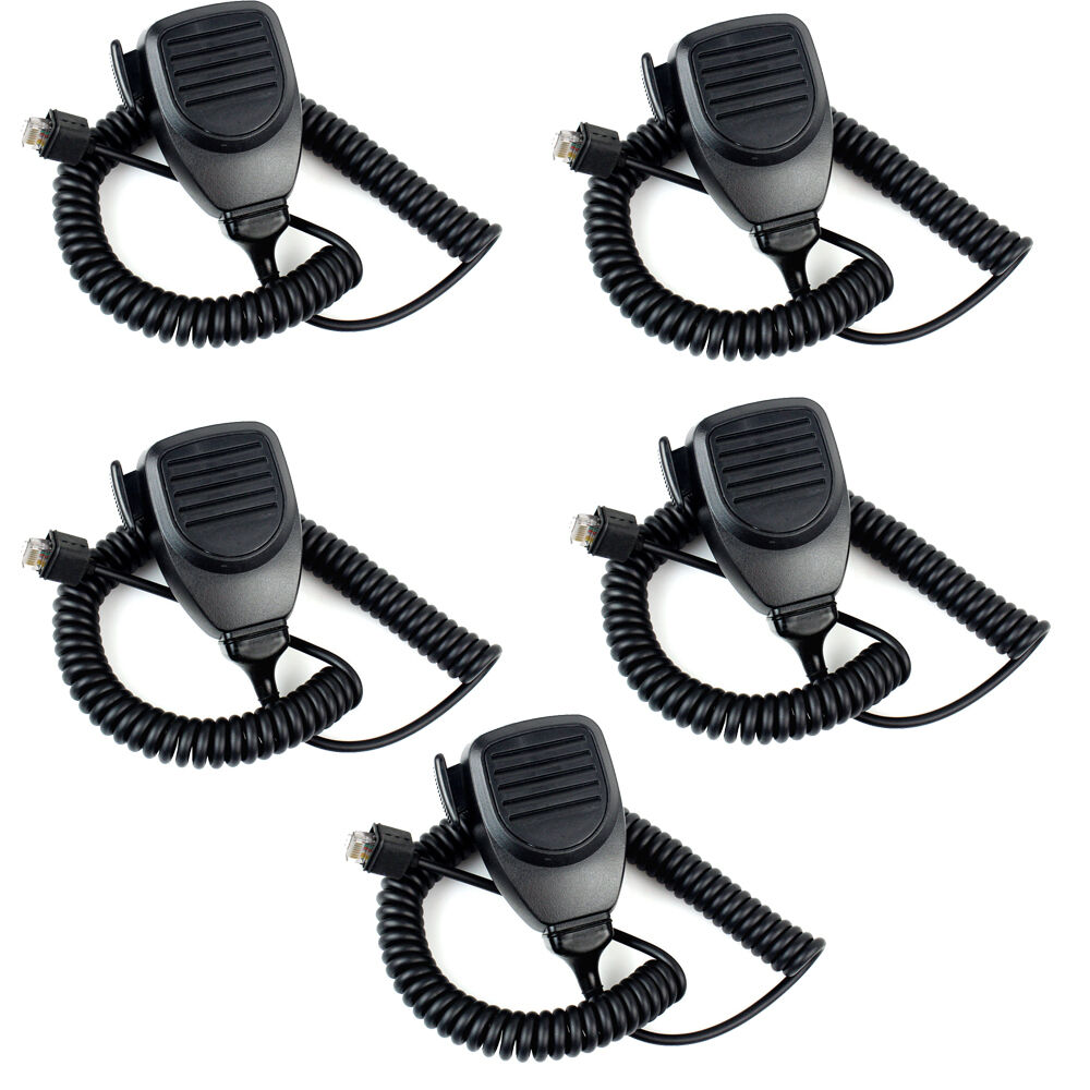 5pcs MT-KMC30 8Pin Mic Microphone For Kenwood TK-730 TK-760 TK-768 TK-830 Mobile Radio J6208A
