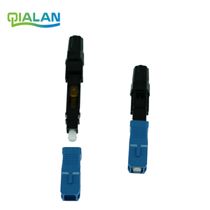 Image 2 - SC UPC Fast Connector FTTH Optical Connectors Embedded Connector FTTH Tool Cold Fiber Fast UPC Connector
