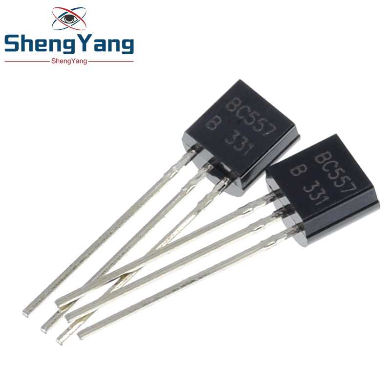 100PCS BC557B TO-92 BC557 TO92 557B New triode Transistor