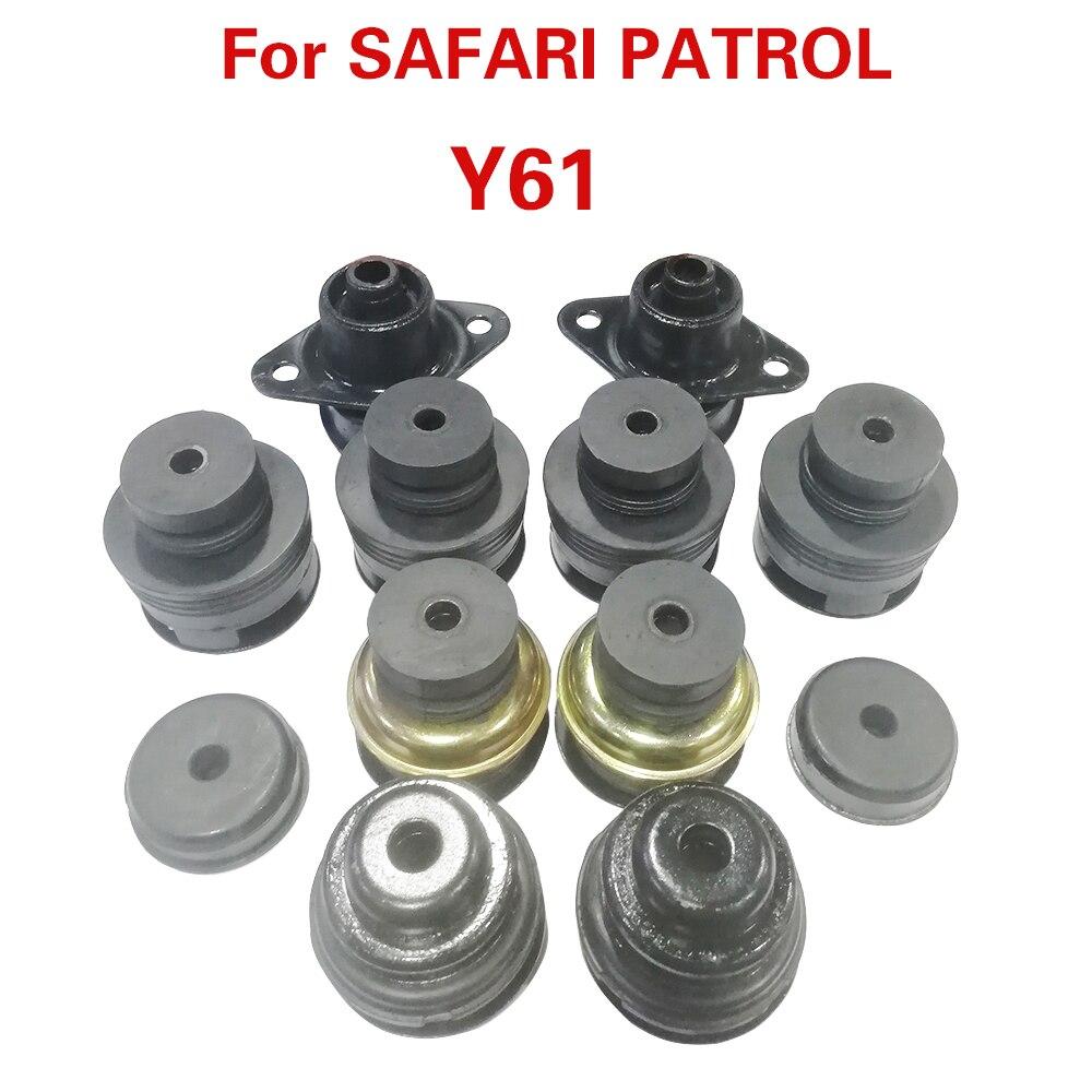Whole car Frame buffer rubber Cushiion Sub-Assy  For N.SAFARI  PATROL Y61 95550-VB005 95520-06J00 95520-VC000 95510-VB005