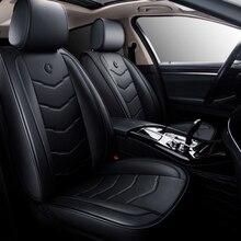 Coprisedili per auto in pelle universale Set completo di accessori per la protezione del cuscino per Nissan terrano 2 patrol y61 juke almera g15 classic