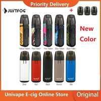 Neue Farben Kit JUSTFOG MINIFIT Pod Vape Kit w/370 mAh Batterie & 1,5 ml Patrone pod system pod vape kit vs Drag Nano/Kubi