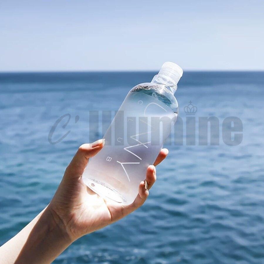 Corée du sud nettoyage en profondeur démaquillage eau 500ml démaquillage résiduel doux Non irritant yeux amovibles lèvres