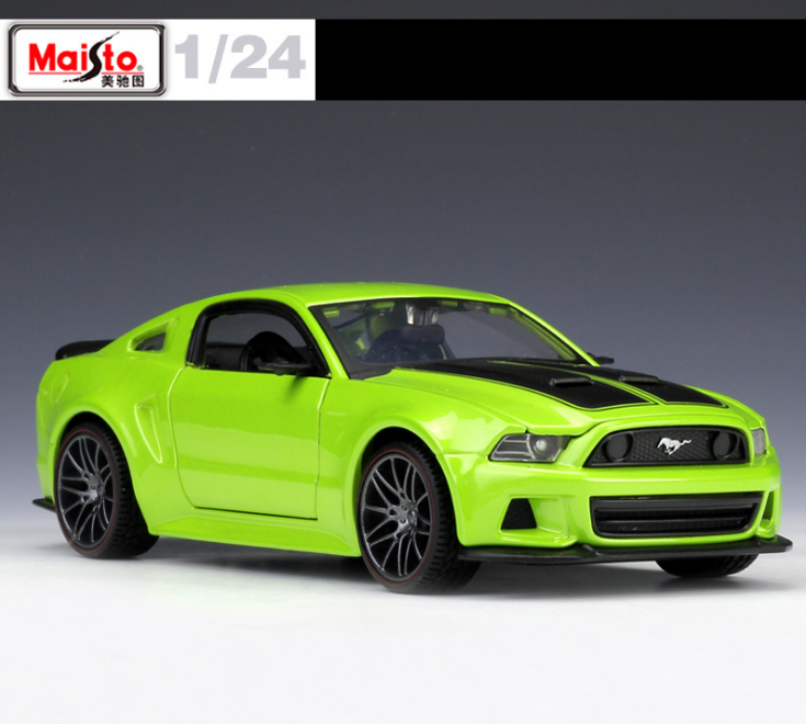 Maisto 1 24 Need For Speed 2014 Ford Mustang Gt 5 0 Diecast Model Racing Car Toy Boy Toys New In Box Free Shipping Aliexpress