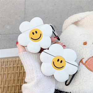 3D Smiley Flower Cartoon Case