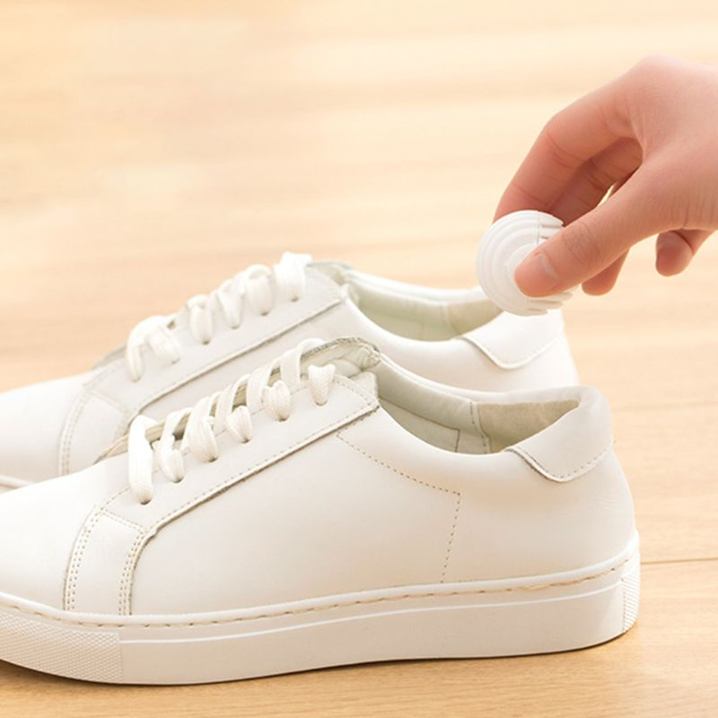 6pcs Mini Ball Shape Shoe Deodorant Dryer Moisture Absorber Antimildew Bactericidal Wardrobe Drawer Bathroom Car