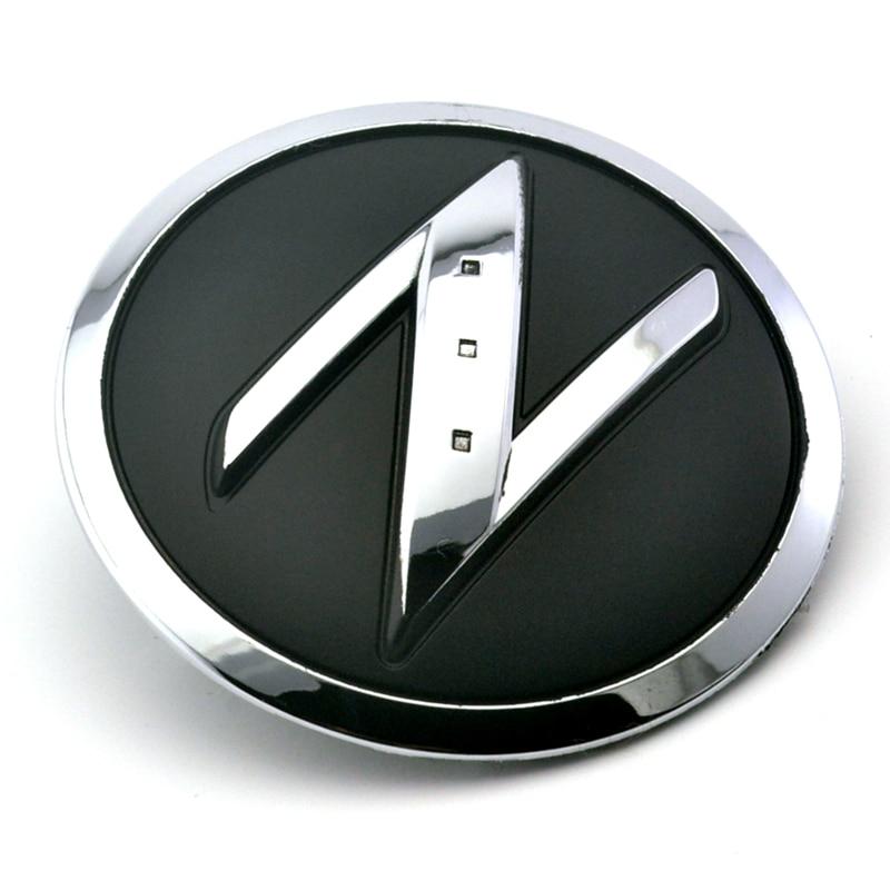 1 Pair Z Logo Emblem For Car Front Fender Badge Adhesive Sticker Fit For 350Z 370Z