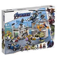 Marvel Avengers Endgame Super Heroes Avengers Thanos Composto Battaglia Building Blocks Mattoni Bambini Giocattoli Compatibile con Legoinglys