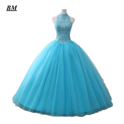 Bm quinceanera vestidos 2020 vestido de baile frisado doce 16 vestidos até o chão formal baile de formatura vestido de festa bm303