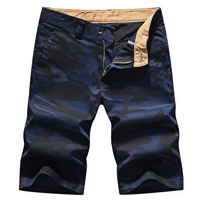 Mens Military Cargo Shorts Nice Brand Pop Army Camouflage Shorts Men Cotton Loose 88%cottonVogueShort Pants Plus Size 55