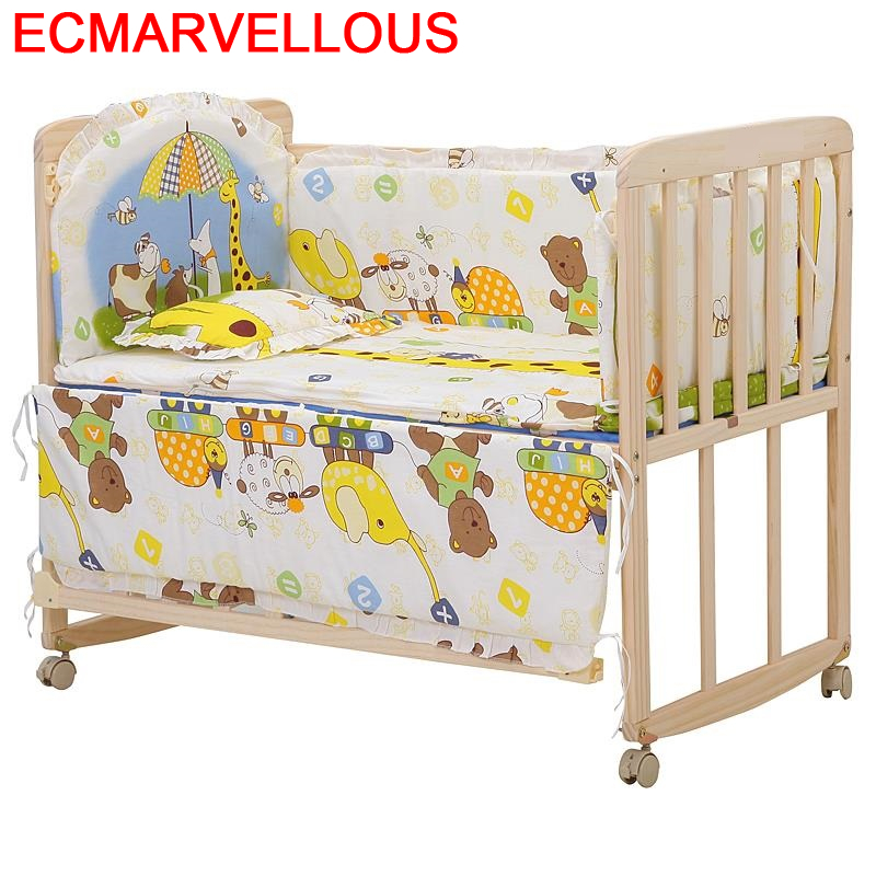 Furniture Dormitorio Infantil Letto Letti Per Bambini Cama Individual Wooden Kinderbett Chambre Lit Enfant Children Kid Bed