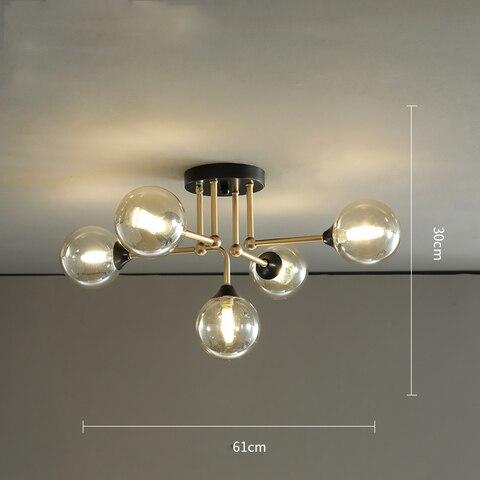lustre iluminacao sala estar cozinha quarto loft luminaria decorativa