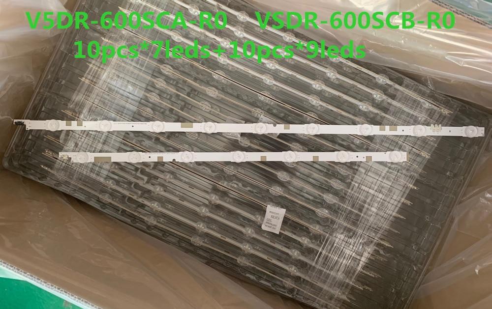 Samsung BN96-38483A//BN96-38484A LED Backlight Strips New 20