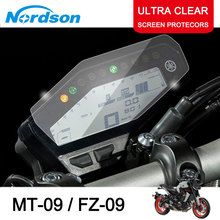 Nordson Motorcycle Cluster Scratch Screen Protection Film Protector for Yamaha MT09 MT 09 MT-09 FZ09 FZ FZ-09