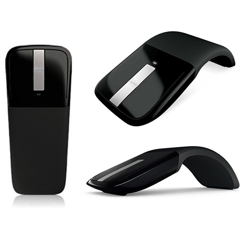 Image 3 - Bluetooth Wireless Mouse Arc Touch Portable Ergonomic Computer Mouse Folding Optical Mini Mice For Notebook PC Laptop Tablet on AliExpress