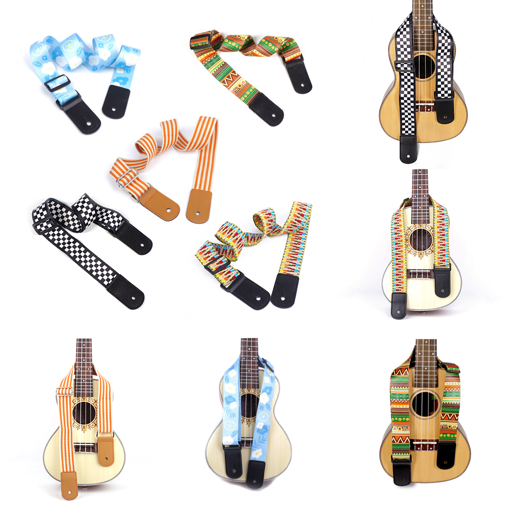 Guitar Strap Electric Acoustic Guitar Ukulele Belt Musical Instrument Part