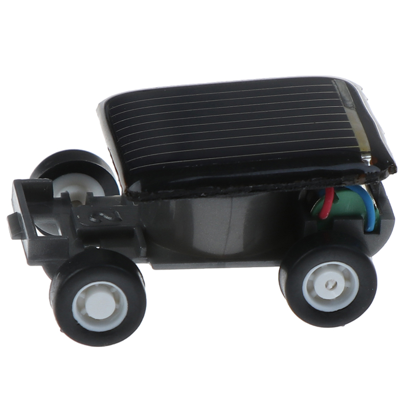 Solar Car Gadget Smallest Solar Power Mini Toy Car Racer Educational Solar Powered Toy Energia Solar Kids Toys Cricket