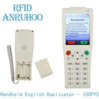 New Handheld RFID Duplicator NFC Smart Chip Encryption Decoding Reader 125Khz T5577 Key Badge Writer 13.56Mhz UID Clone Copier