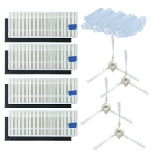 HOT! Mop Side Brush Filter Screen Accessory for 360 S6 Sweeping Robot Vacuum Cleaner