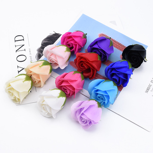 10/20 Pieces Soap roses heads wedding Valentine's Day present decorative flower wall diy gifts box home decor artificial flowers(China)