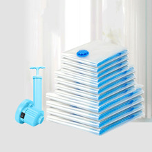 Air Vacuum Bag Sealer Quilt Clothes Organizer Storage Packaging Home Border Folding Compressed Space Saving Supplies Accessories
