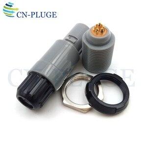 Image 5 - Złącze wtyczka i gniazdo z tworzywa sztucznego 7 pin sprzęt medyczny typu Push pull blokowania M14 PAG/PLG
