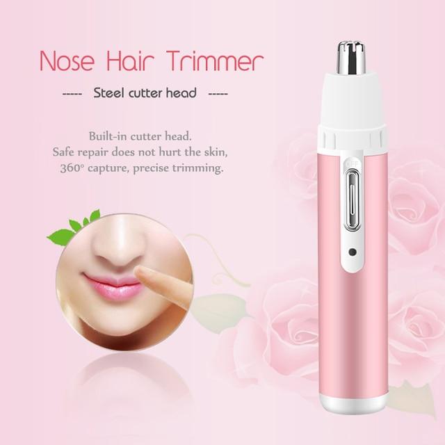 Kemei 4 in 1 Electric Epilator Female Leg Bikini Eyebrow Trimmer Shaver Depilatory For Hair Removal Epilator Face depilador F30 2