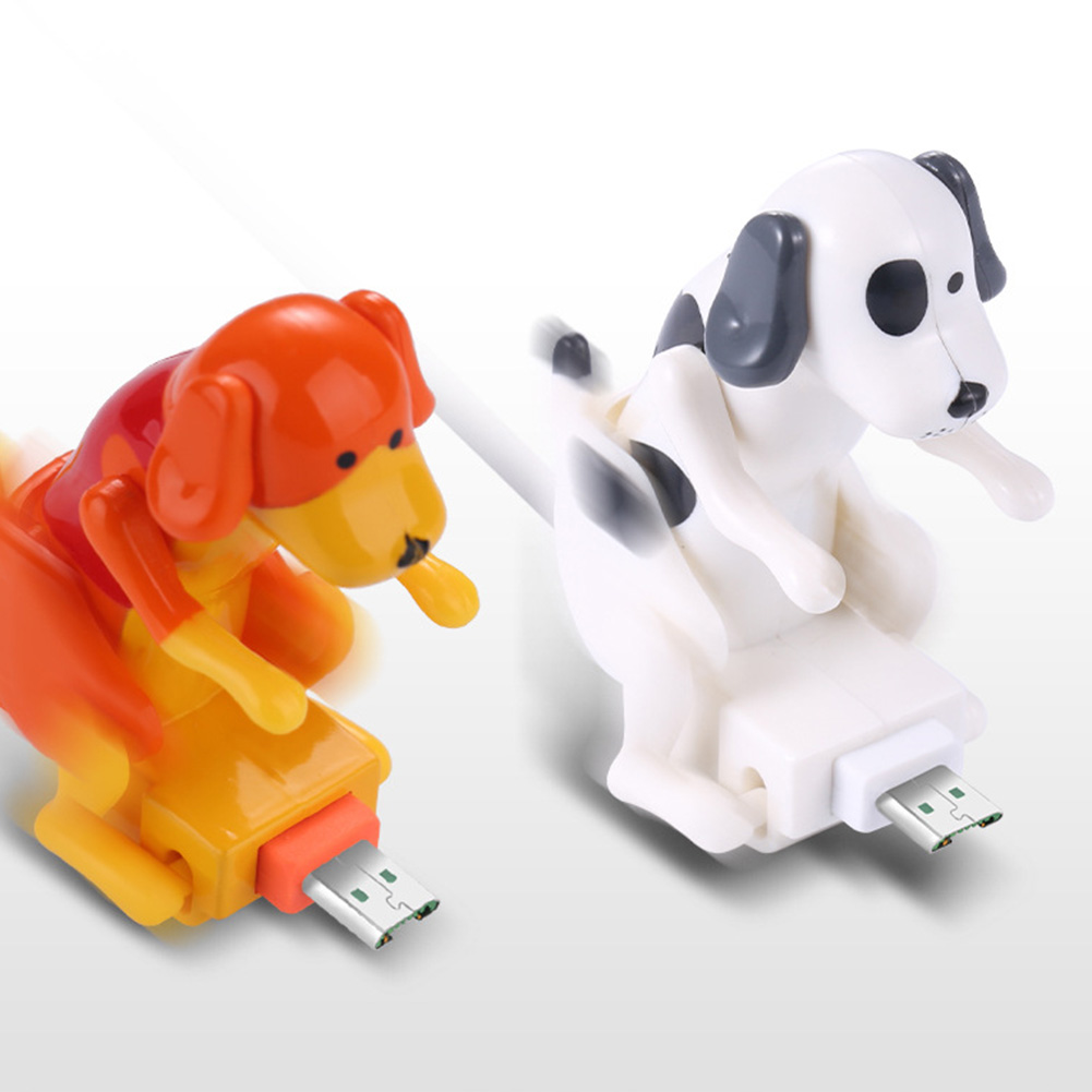 Funny Humping Dog Fast Charger Cable Charging Line Cute Fast Charging Power Date Cable USB Mobile Phones Portable charger - ANKUX Tech Co., Ltd