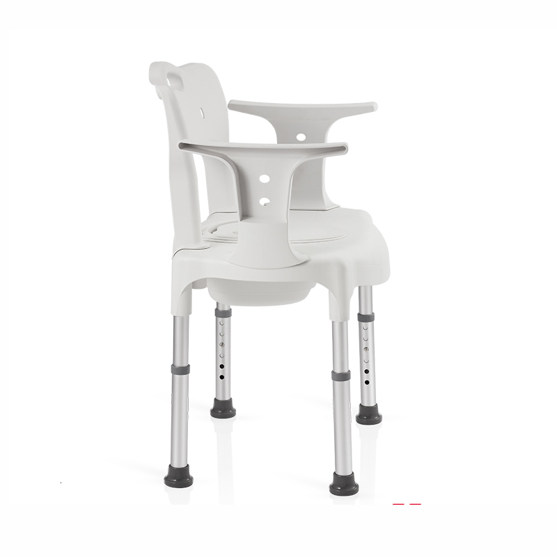 Fish Jump Aged Sit Toilet Chair Foldable Pregnant Woman Pedestal Pan Household Move Closestool A Disability Sit Toilet Chair