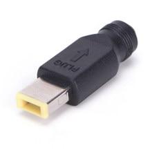 5.5x2.5mm fêmea conversor plugue de alimentação carregador adaptador de cabo para ibm lenovo thinkpad pc universal ac adaptador dc saída jack