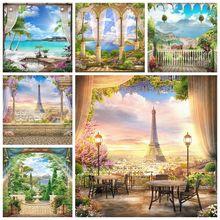 Curtain Photo-Backgrounds Eiffel-Towel Twilight Portrait Woderland Wedding Spring Landscape