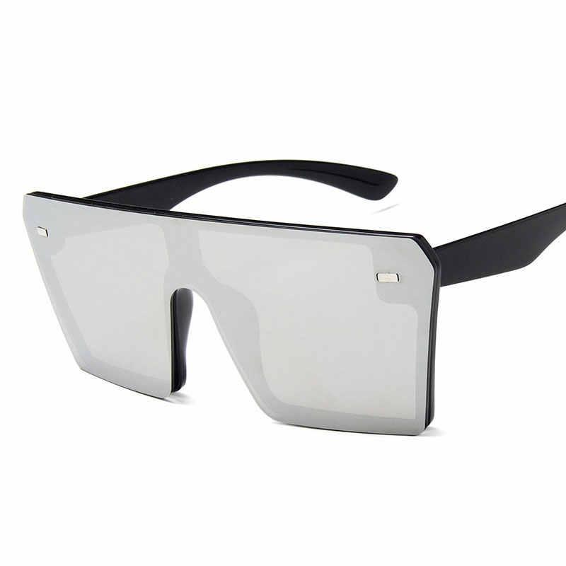 Mode frauen Sonnenbrille Großen Rahmen Klar Linsen für Frauen Gradienten Sonnenbrille Weiblichen Brillen Oversize Sonnenbrille Oculos De Sol