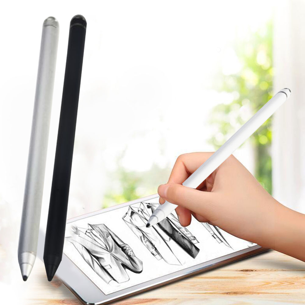 Active Stylus Touch Pen Smart Capacitive Round Cover Silicone Head  Pencil For IPad Pro IPhone Huawei Xiaomi Tablet