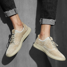 Handmade Breathable Casual Shoes Natural Leather Men