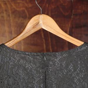 Image 5 - BacklakeGirsl 2020 شيفون موضة جديدة رقبة مستديرة فستان عروس أكمام قصيرة طول الركبة لحفلات الزفاف